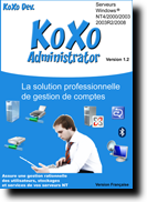 Koxo Administrator - Gestion d'infrastructure ActiveDirectory